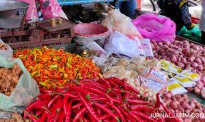 """Harga Bawang Merah Naik, Cabai Rawit di Jombang Semakin """"Pedas"""""""