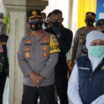 Jelang PPKM Mikro, Forkopimda Jatim Cek Kampung Tangguh di Madiun