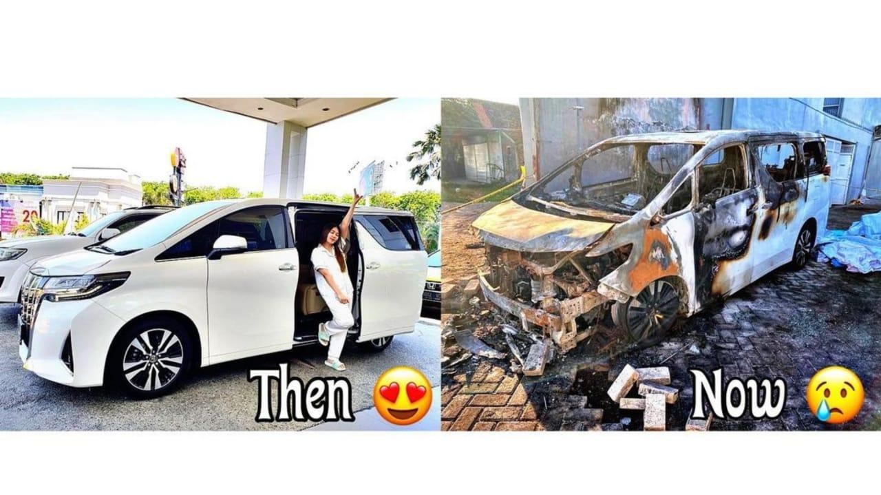 Pembakar Mobil Alphard Pedangdut Via Vallen Divonis 6 Tahun Penjara
