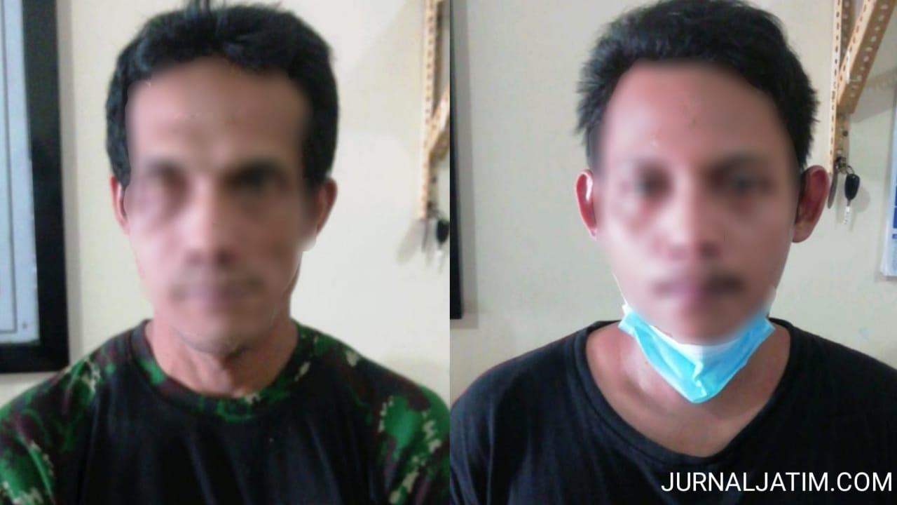 Polisi Tangkap Dua Pria Transaksi Sabu di Konter HP Kediri