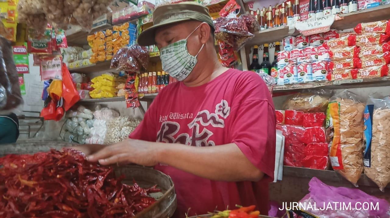 Bawang Merah Naik, Harga Cabai di Jombang Semakin Pedas