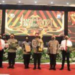 Kapolda Jatim Awards 2021, Polres Tuban Raih 8 Penghargaan
