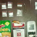 Pengedar Narkoba di Nganjuk Sembunyikan Sabu di Bungkusan Snack