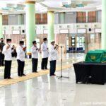 Jokowi Takziah ke Mendiang Dewas KPK Artidjo Alkostar di Yogjakarta