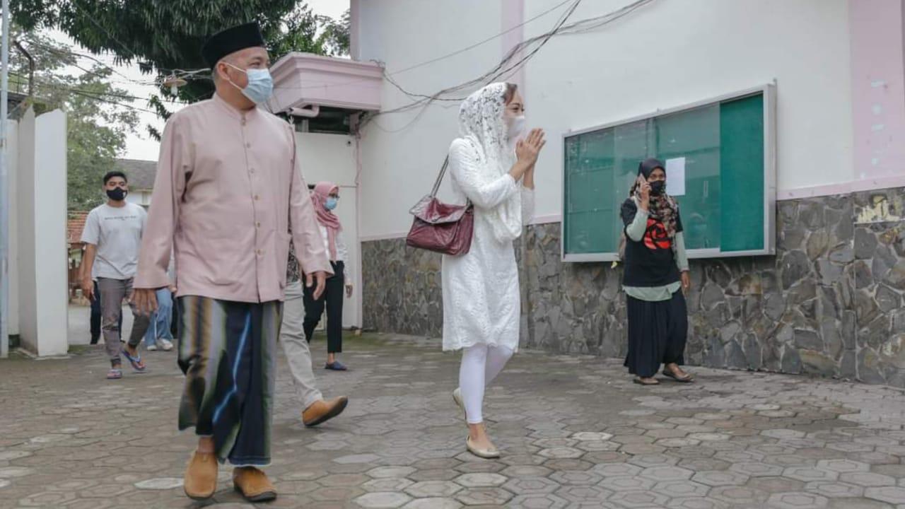Sekjen DPP PSI Silaturahmi ke Cucu Pendiri NU di Tebuireng Jombang