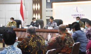 Rakor Bersama KPK, Pemkot Kediri Dukung Program Pencegahan Korupsi