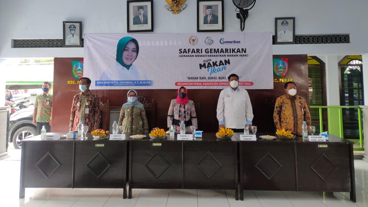 DPR RI Ema Umiyyatul Chusnah Dorong Jombang Budidaya Budikdamber