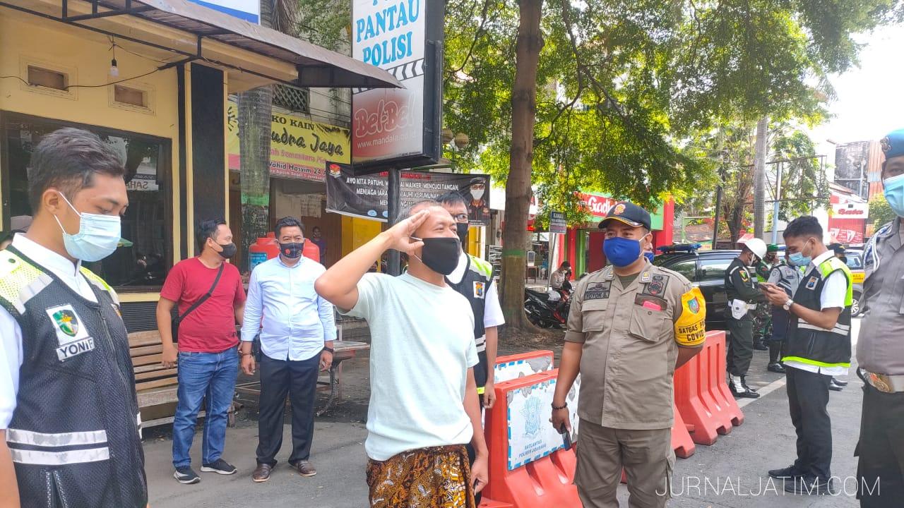 Razia Yustisi di Jombang Temukan Barang Mencurigakan Mirip Sabu