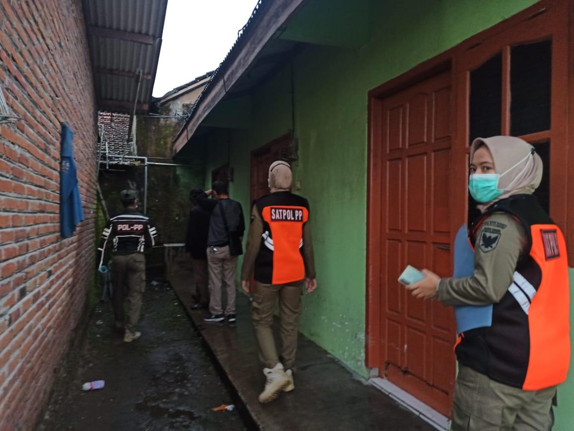 Pasangan Bukan Suami Istri Terjaring Operasi Yustisi di Kota Kediri