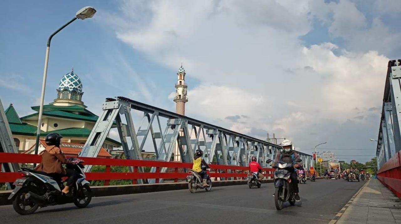 Hampir setengah abad, jembatan Bandar Ngalim Kediri akan direkonstruksi