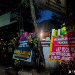 Pengurus PWI dilantik, Kasat Reskoba Polres Jombang kirim Bunga Papan