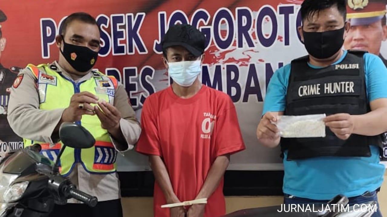 Tajudin Edarkan 900 Butir Pil Koplo di Jogoroto Jombang