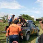 Mayat Pria Telanjang di DAM Sungai Brantas Dievakuasi ke RSUD Jombang