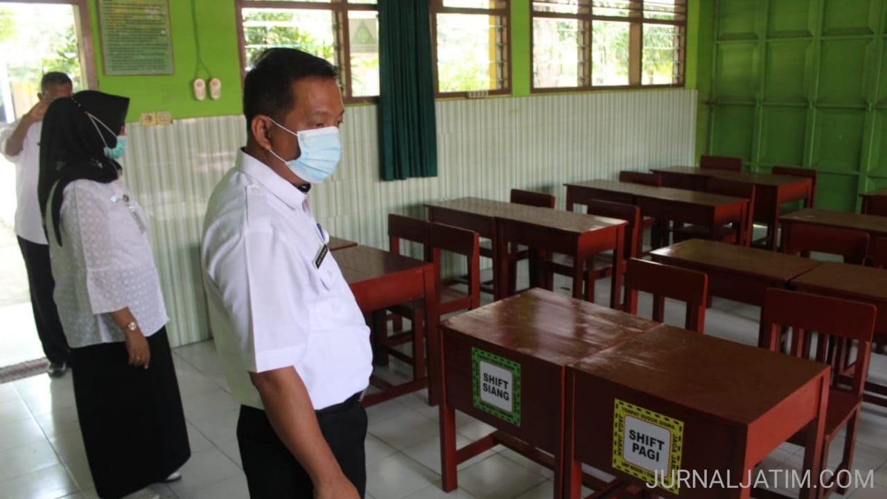 Disdikbud Jombang sidak sekolah jelang pembelajaran tatap muka 6 April