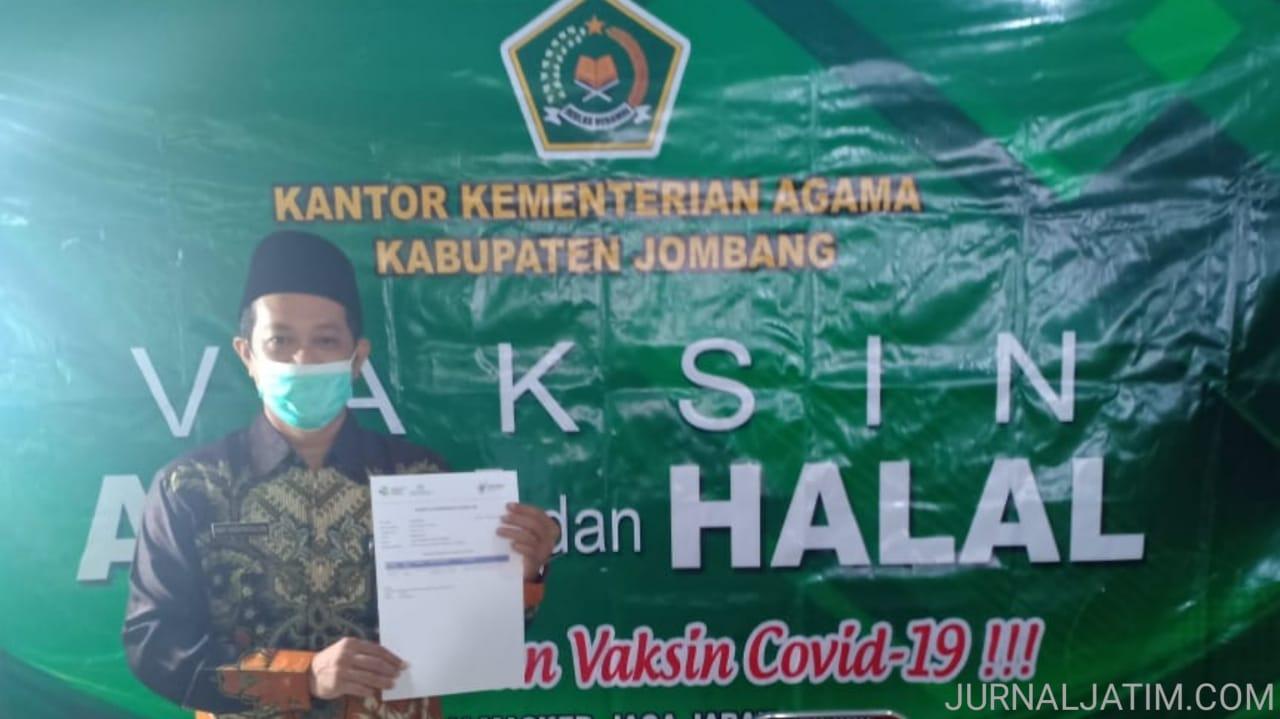 7000 Pendidik Kemenag Jombang Divaksinasi Jelang Belajar Tatap Muka