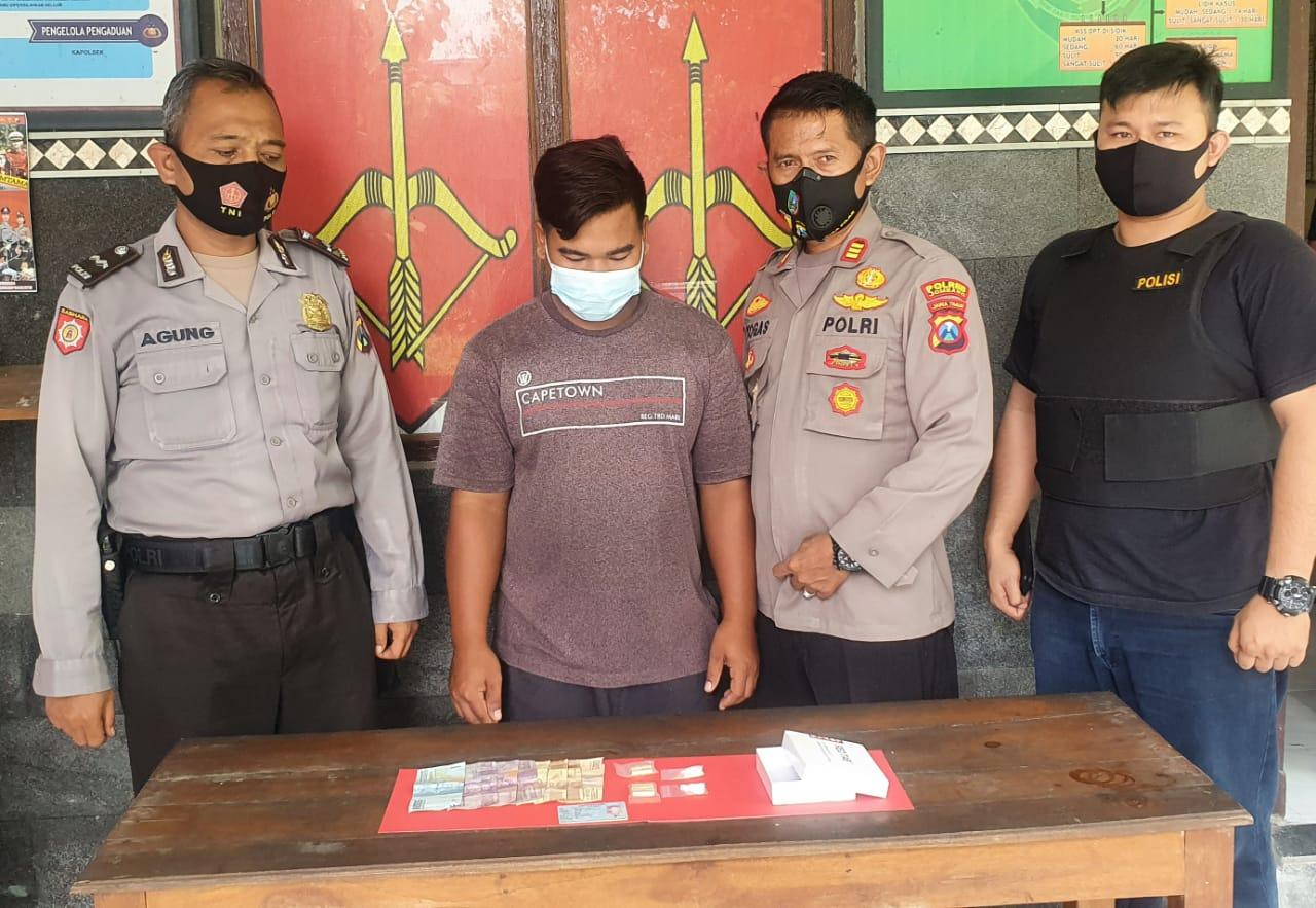 Siswanto ditangkap polisi karena edarkan pil koplo di Mojowarno Jombang