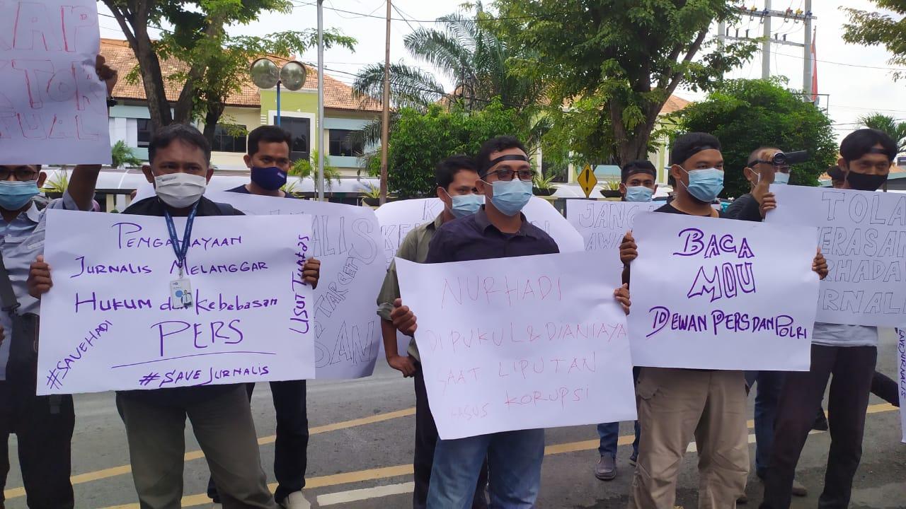 Wartawan Tuban Desak Usut aktor Kekerasan Jurnalis Tempo Nurhadi