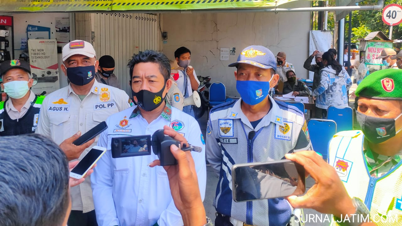 Teroris Nganjuk Ditangkap, Polisi Razia Kendaraan Masuk Kota Jombang