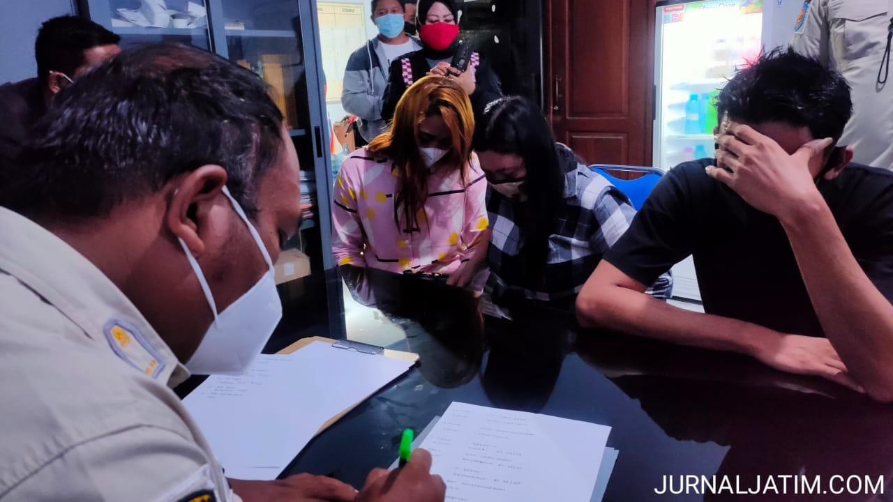 Indehoi di hotel, belasan pasangan mesum kena razia gabungan Jombang