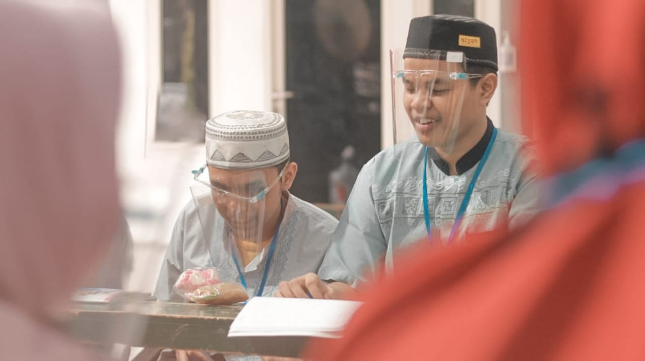 Pelatihan Membaca Alquran Braille Cetak Guru Ngaji Tunanetra