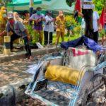 Tukang Becak Tewas Depan Kemenag Jombang usai Angkut 3 Penumpang