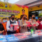 Operasi Pekat Semeru 2021, Kasus Narkoba di Jombang Naik 30 Persen