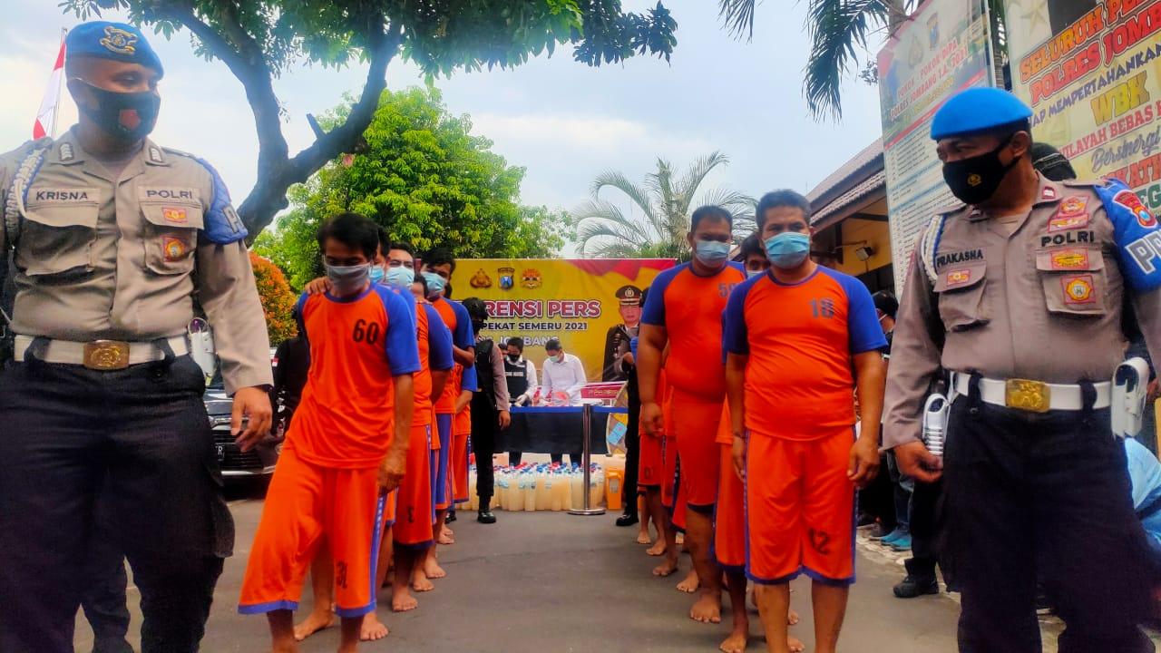 Kasus Premanisme Menonjol Dalam Operasi Pekat di Kabupaten Jombang