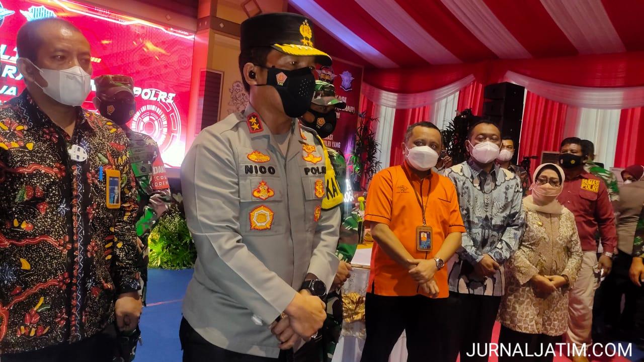 Kapolda Jatim Hadiri Peluncuran Aplikasi SIM Nasional Presisi di Jombang