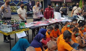 Dua Belas Hari, Polres Mojokerto Kota Penjara 103 0rang Pelaku Kejahatan