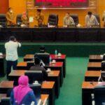 Seluruh Anggota Dewan Hadiri Paripurna LKPJ Bupati Jombang TA 2020