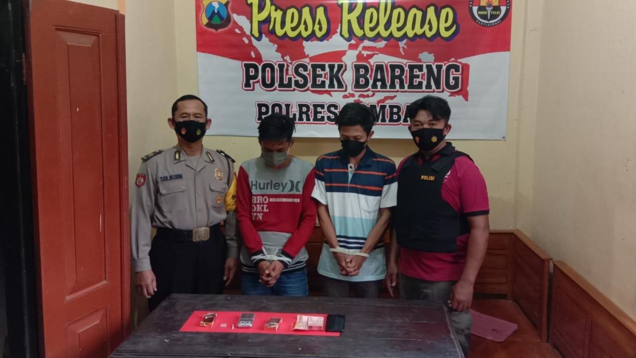Nekat Transaksi Sabu di Bulan Ramadan, Dua Pemuda Jombang Ditangkap