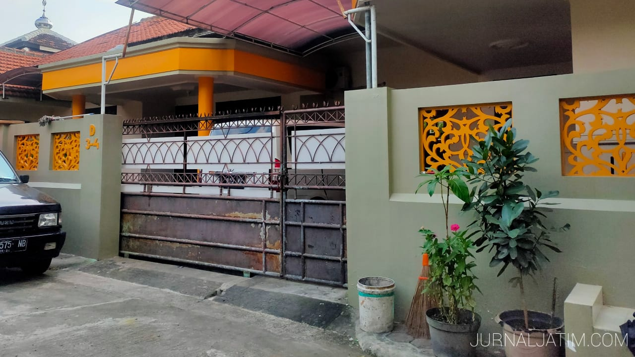 Penampakan Rumah Calon Istri Ustaz Somad di Jombang Tertutup Rapat