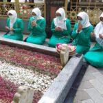 Harlah ke 71, Fatayat Jombang Ziarah ke Makam Muassis dan Pendiri NU