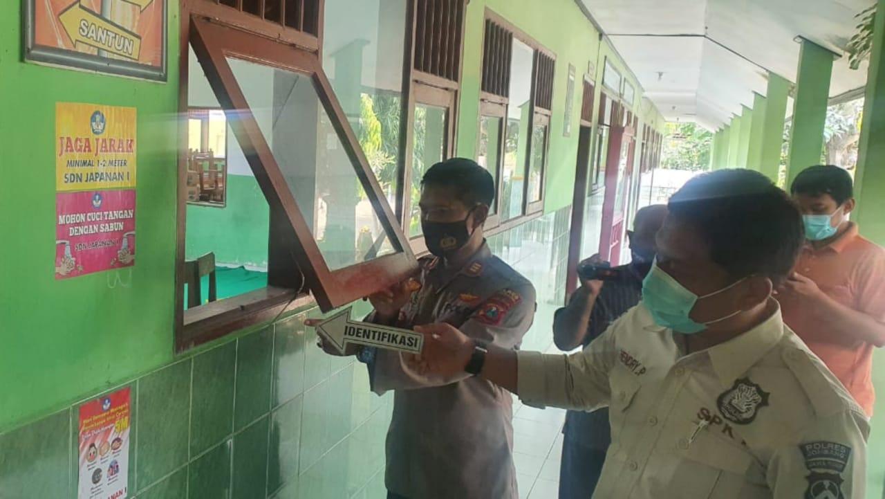 Maling Bobol Gedung Sekolah di Jombang, Aset Senilai Rp50 Juta Raib