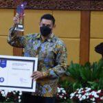 Pemkot Kediri Raih Penghargaan BKN Award 2020