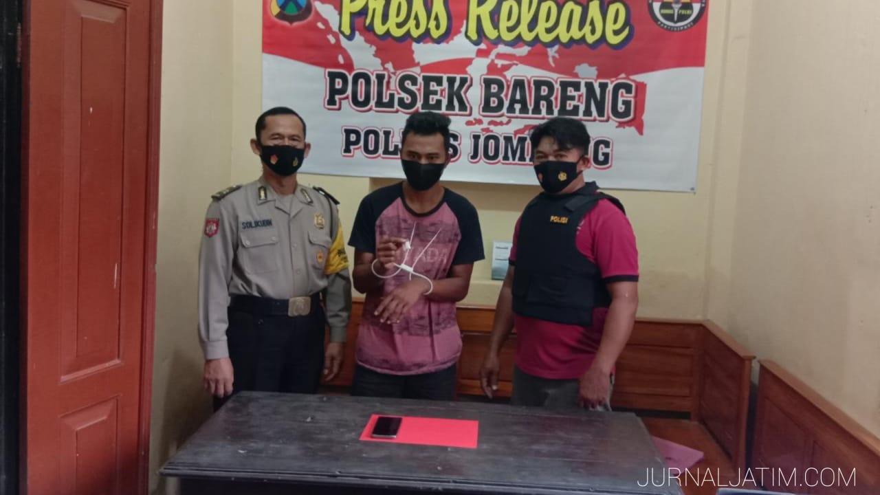 Pemuda Jombang Ditangkap Polisi Usai Beli Sabu Rp600 Ribu