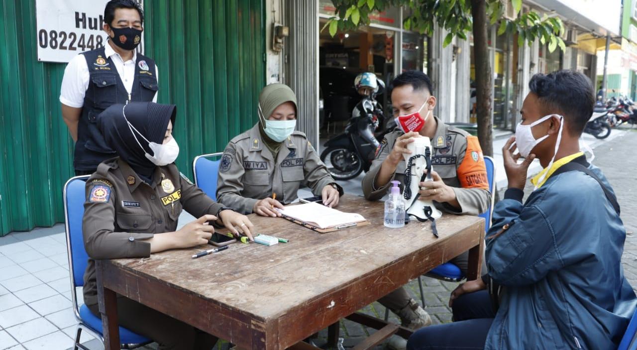Razia Prokes di Jombang Semakin Digencarkan Selama Ramadan 2021
