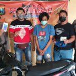 Pemuda Jombang Mencuri HP Saat Pemilik Tidur di Teras Kos