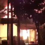 Ditinggal Ke Surabaya, Rumah Warga Kota Mojokerto Habis Terbakar