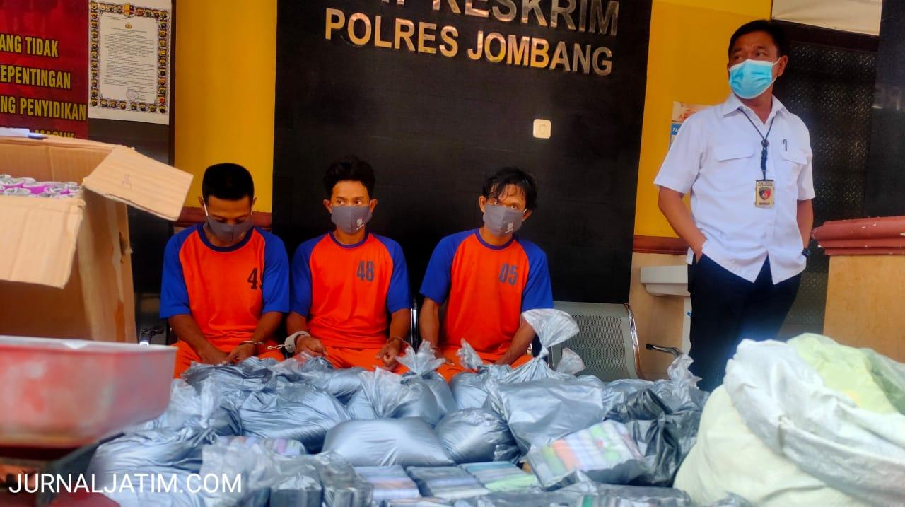 Tiga Penjual Bahan Petasan di Jombang Terancam 20 Tahun Penjara