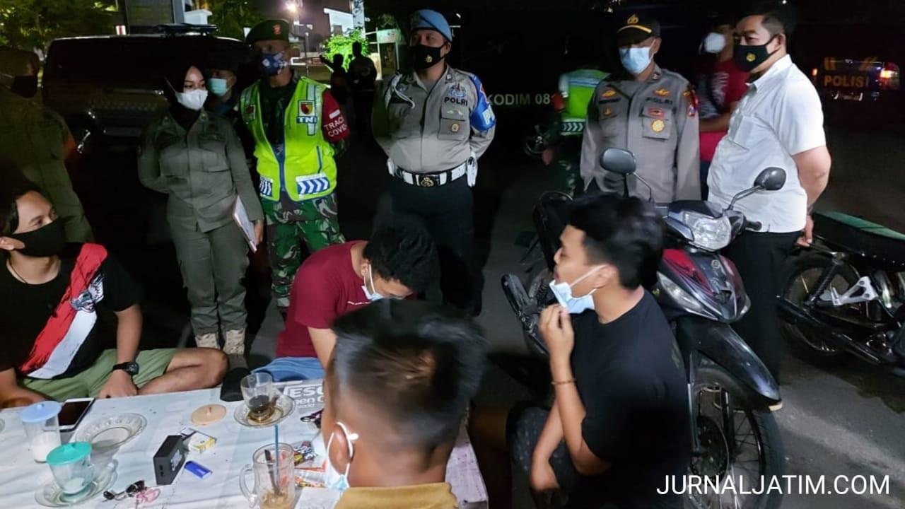 Petugas Gabungan di Jombang Gencarkan Patroli Malam Jelang Lebaran