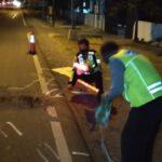Tabrak Lari Tewaskan pengendara Motor di Tembelang Jombang