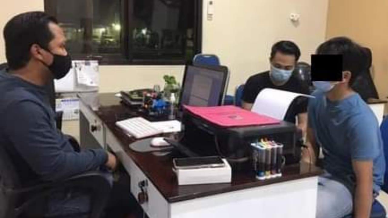 Jambret HP Mojokerto Dibekuk Polisi Saat Tidur di Kamar Kos Sidoarjo