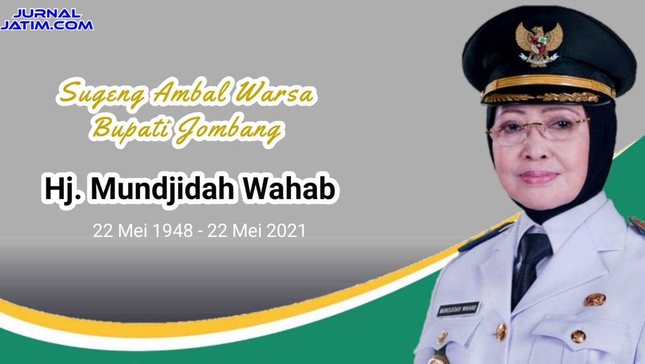 Ulang Tahun ke-73, Perjalanan Politik Bupati Jombang Mundjidah Wahab