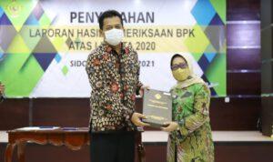 Kabupaten Jombang Kembali Terima Opini WTP dari BPK Jawa Timur