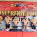 Polisi Tangkap Penyekap Kepala Penarikan WOM Finance Tuban, Tiga DPO