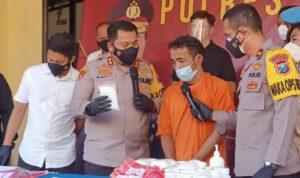 Setengah Kilogram Sabu Kiriman Aceh Gagal Beredar di Mojokerto