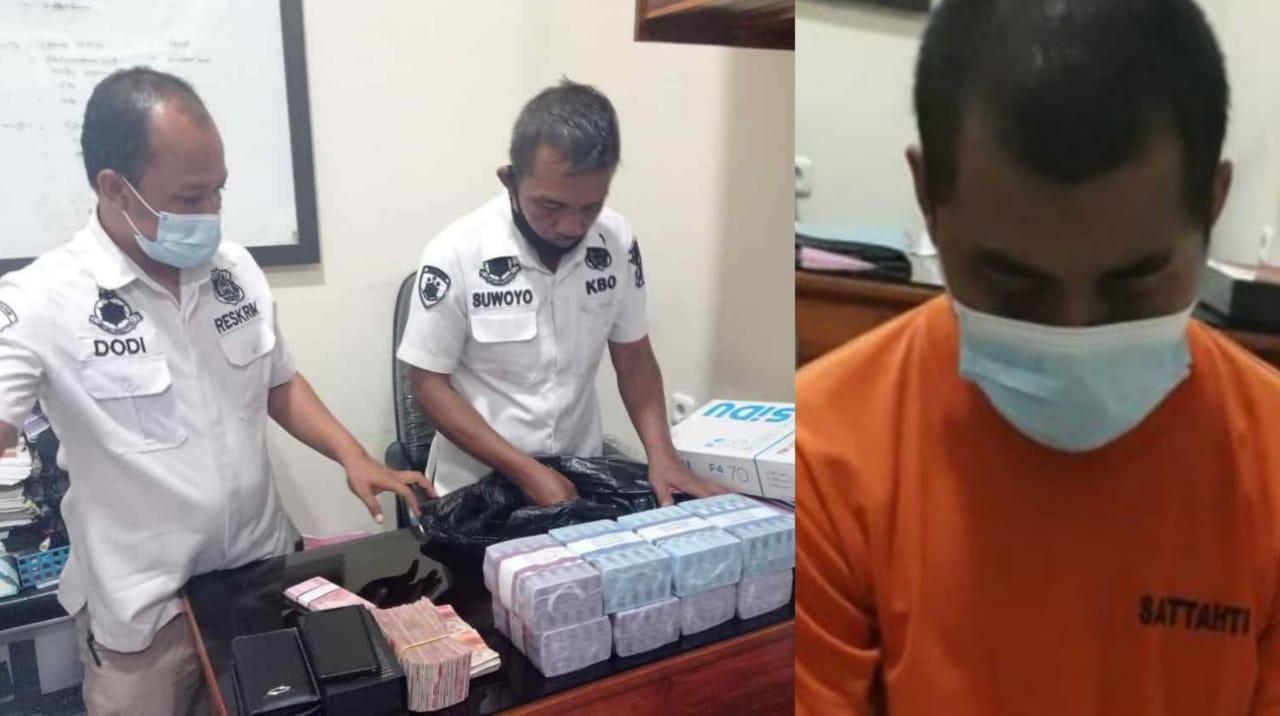 Pria Nganjuk Bobol ATM Majikannya di Tulungagung Hampir Rp500 Juta