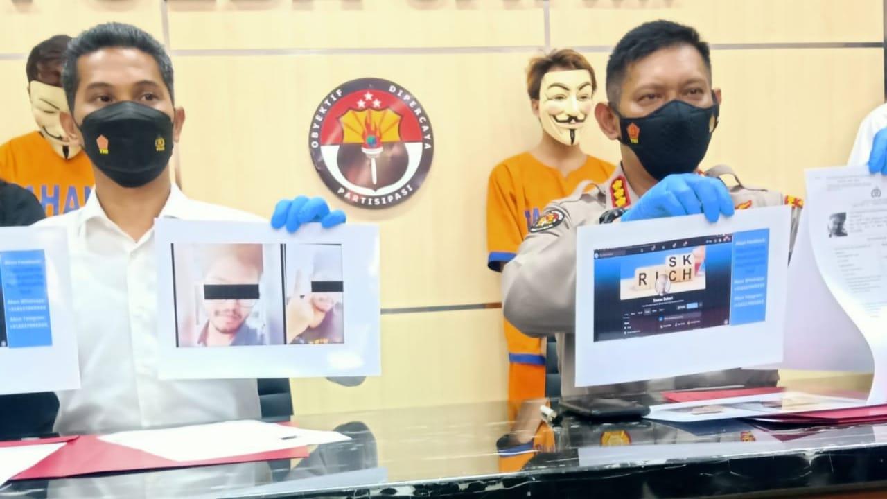Empat Orang Hacker Kartu Kredit milik WNA Diringkus Polda Jatim