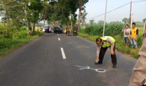 Pengendara Motor Vario Tewas Akibat Tabrak Truk di Pulorejo Jombang